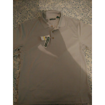 Camisa Cubavera, Mediana Color Gris, Nueva ! Lacoste,polo