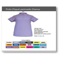 Playera Polo Dama 50% Algodon 50% Poliester