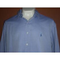 (63) Camisa Polo Ralph Lauren Yarmouth Talla 17 32/33