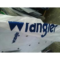 Camisa Wrangler Bordada. -el Güero-