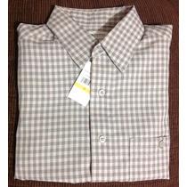 Camisa Camisola Haggar Casual Juvenil Cuadros Fresca
