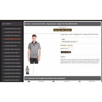 Excelente Camisa Hugo Boss Janis,cotton Silk 100% Original