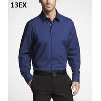 M, L - Camisa Express Azul Ropa De Hombre 100% Original