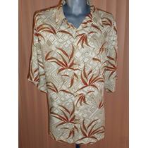Puritan Camisa Hawaiiana Talla 2xl
