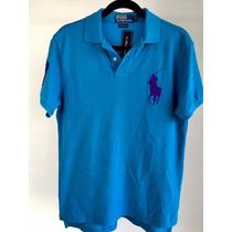 Playera Tipo Polo Ralph Lauren Caballero, Azul