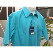 Camisa Casual Stafford Tallas Extras 2xl Cuello 18 46/48
