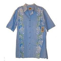 Camisa Hawaiana Guayabera Talla Extras 5xl 58/60 Ideal Playa