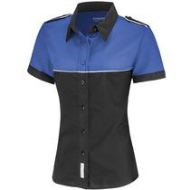 Blusa Escudería Azul Para Dama