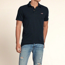 Playera Pearl Street Polo Hollister 100%