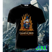 Playeras O Camiseta Game Of Thrones Rico Mc Pato 100% Algodo