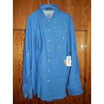 Camisa Timberland Xl Nueva Con Etiquetas 100% Algodon