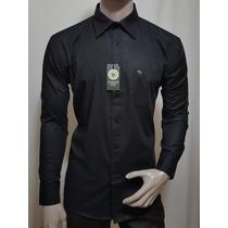 Camisa Abercrombie Unico Modelo Color Negro Talla Xl