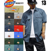 Camisa De Trabajo Y/o Escolar Dickies Manga Corta Dif Colore