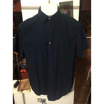 Camisa American Eagle Azul Talla Xl Seminueva 2991 *