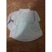 Camisa Old Navy Talla 4 Azul Cielo