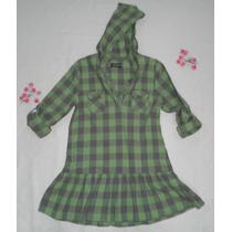 Vestido Blusa Camisa Bluson Vestido 10 - 12 Años Faded Glory
