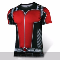 Playera Avengers Antman Deportiva Gym Hormiga