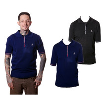 Camisa Polo Marca Rocksteady Usa Estilo Boliche Rockabilly
