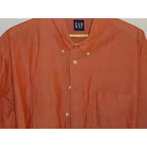 Camisa Gap Cotton Oxford Tornasol Como Nueva Talla L