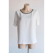Blusa Blanco 28 Zara