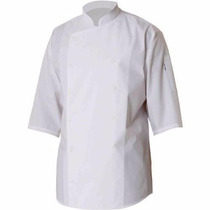 Chef Works Filipina Para Chef S100-wht 3/4, Tamaño L