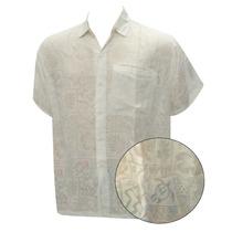 La Leela Blanca Tropical Pv Brasso Camisa Hawaiana Para Los