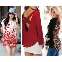 Moda Japonesa Oriental Asia Blusa Bluson Hipie Envio Gratis