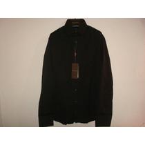 Gucci Camisa Talla Grande Negro Nueva Original Envio Gratis