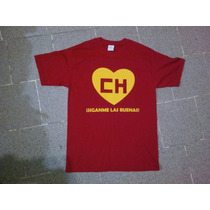 Camisa Chapulin Colorado Playera Chespirito De Coleccion