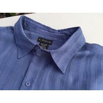 Camisa Tipo Guayabera J. Ferrar Talla Extra 2xlt 54/56 Playa