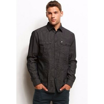 Camisa Ax Armani Exchange (printed Shirt) Med 100% Original