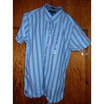 Camisa Tommy Hilfiger Xl Nueva Con Etiquetas 100% Algodon