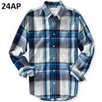 S- Camisa Aeropostale A Cuadros Ropa De Hombre 100% Original