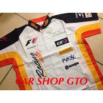 Camisa Escuderia Renault Tipo F1