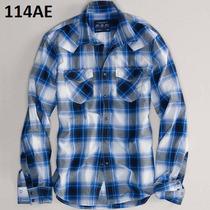 S- Camisa American Eagle A Cuadros Ropa Hombre 100% Original