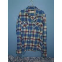 Camisa De Franela Pull And Bear (bershka, Zara)