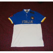 Exclusiva Camisa Tommy Hilfiger Paises Italia 100% Original