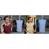 Camisa Shirts Lino Italiano Charlie Original Rockabilly