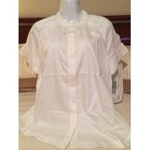 Blusa Para Dama Liz Claiborne Blanca Chica S:6
