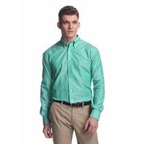 Calvin Klein Camisa Vestir Slim Fit Original Envio Gratis