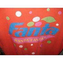 Blusa Dama Manga Corta Unitalla Fanta-coca Cola