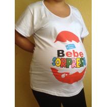 Blusas Playeras De Maternidad Embarazo Embarazada Baby Showe