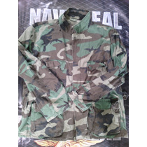 Camisola Militar Us Army Original Woodland X L