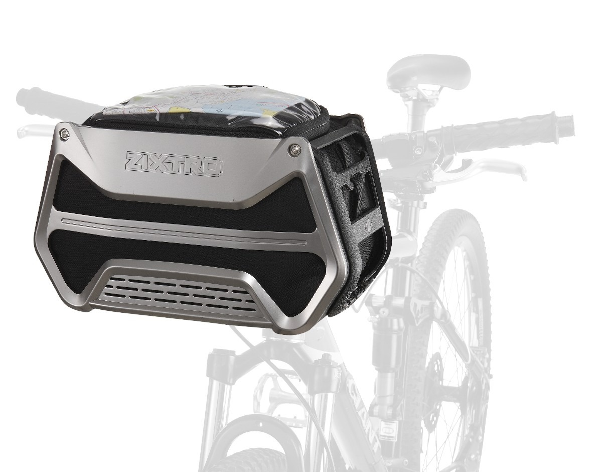 Canastilla para bicicleta desmontable portatil zixtro for Portatil desmontable