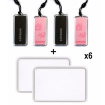 4 Key Tags + 2 Tarjetas Samsung Para Cerradura Digital Rfid
