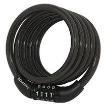 Master Lock 8143d Auto Arrolla Bloqueo De Cable De 4 Pies X