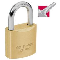 Candado De Alta Seguridad Llave Tetra 40 Mm Hermex 43420