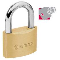 Candado De Alta Seguridad Llave Tubular 50 Mm Hermex 43304