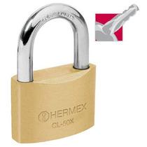 Candado De Alta Seguridad Llave Tetra 50 Mm Hermex 43421