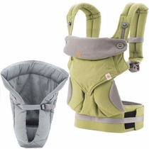 Cangurera Portabebe Ergobaby Bundle 360 4 In 1, Green